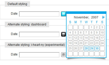 Calendar - A Javascript class for Mootools | Ajaxonomy